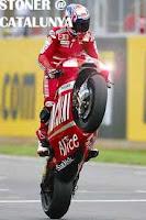 casey stoner juara MotoGP Catalunya
