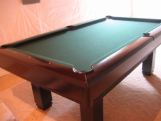 7' Brunswick Cherry Hawthorn Pool Table