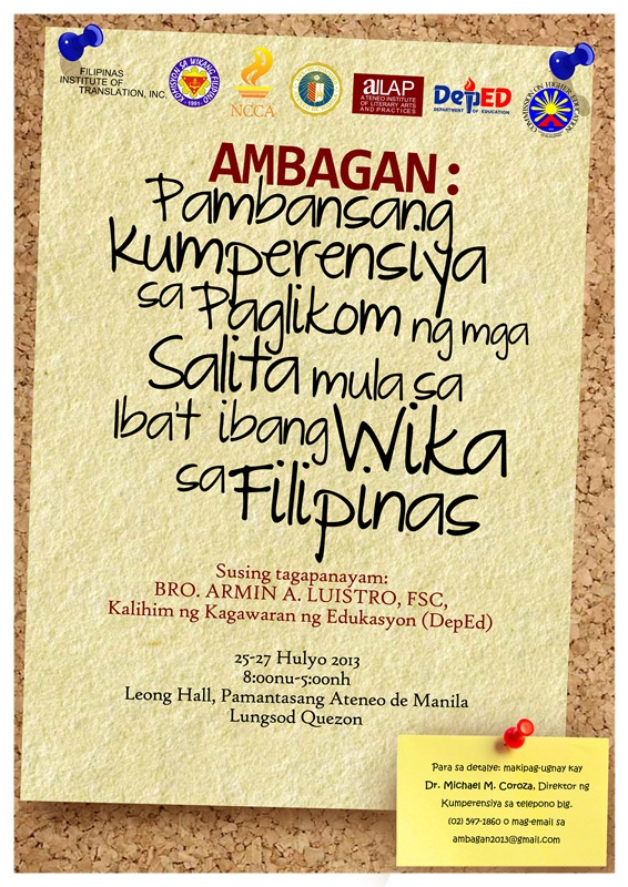 wikang tausug -tausug: hilam maranao: rengit maguindanao: zamboagueño: leave  a comment for your questions, reactions and suggestions.