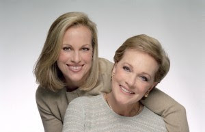 Emma Walton Hamilton and Julie Andrews