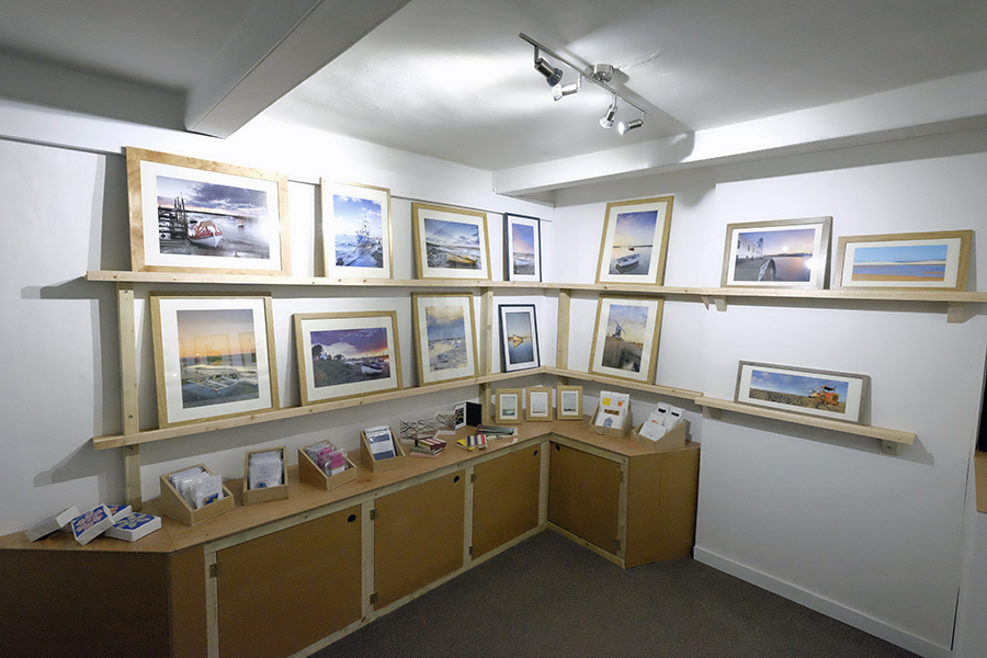 my work in the gallery