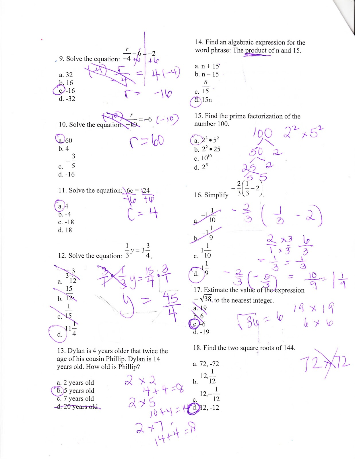 Worksheet Algebra Readiness Worksheets pre algebra readiness worksheets help for kids teachers free