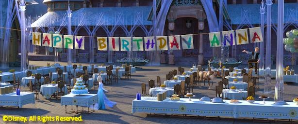 Happy Birthday, Anna - Frozen Fever