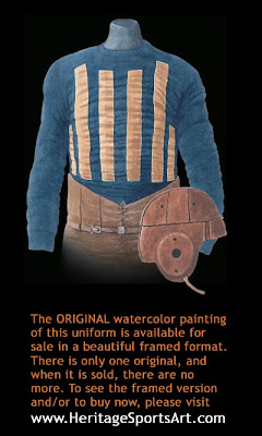 Chicago Bears 1920 uniform - Decatur Staleys 1920 uniform