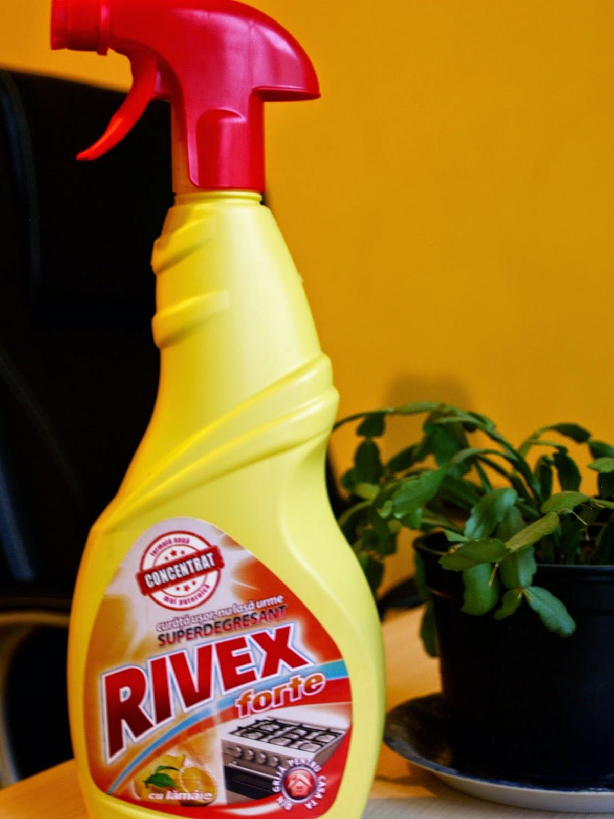 Rivex forte-cel mai bun produs pentru curatarea hotei