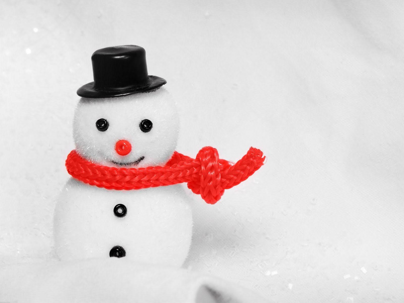 Christmas Snowman Wallpaper hd gallery