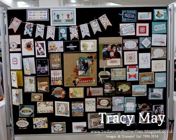 stampin up uk european convention 2014 inspiration independent demonstrator Tracy may