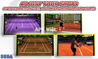Virtua Tennis Challenge v4.0 APK+DATA: game đánh tennis trên Android (mod)