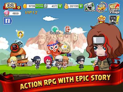 Ninja Heroes Terbaru v1.0.7 Apk Offline