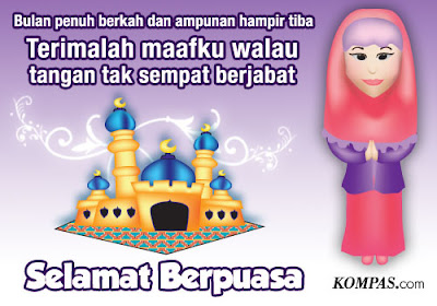 Gambar Kata kata Ucapan selamat Ramadan selamat Puasa