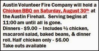 8-30 Chicken BBQ Austin Firehall