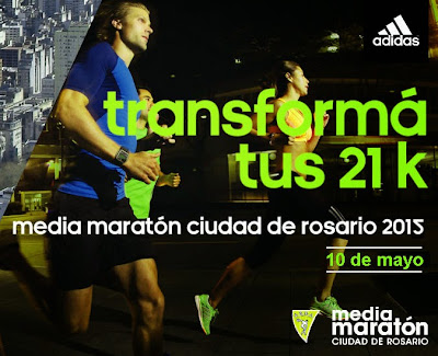 Media maratón de Rosario (Santa Fe, ARG, 10/may/2015)