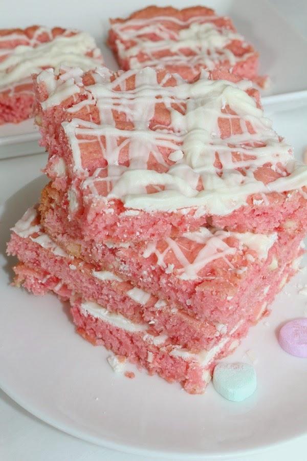 strawberry brownies recipe