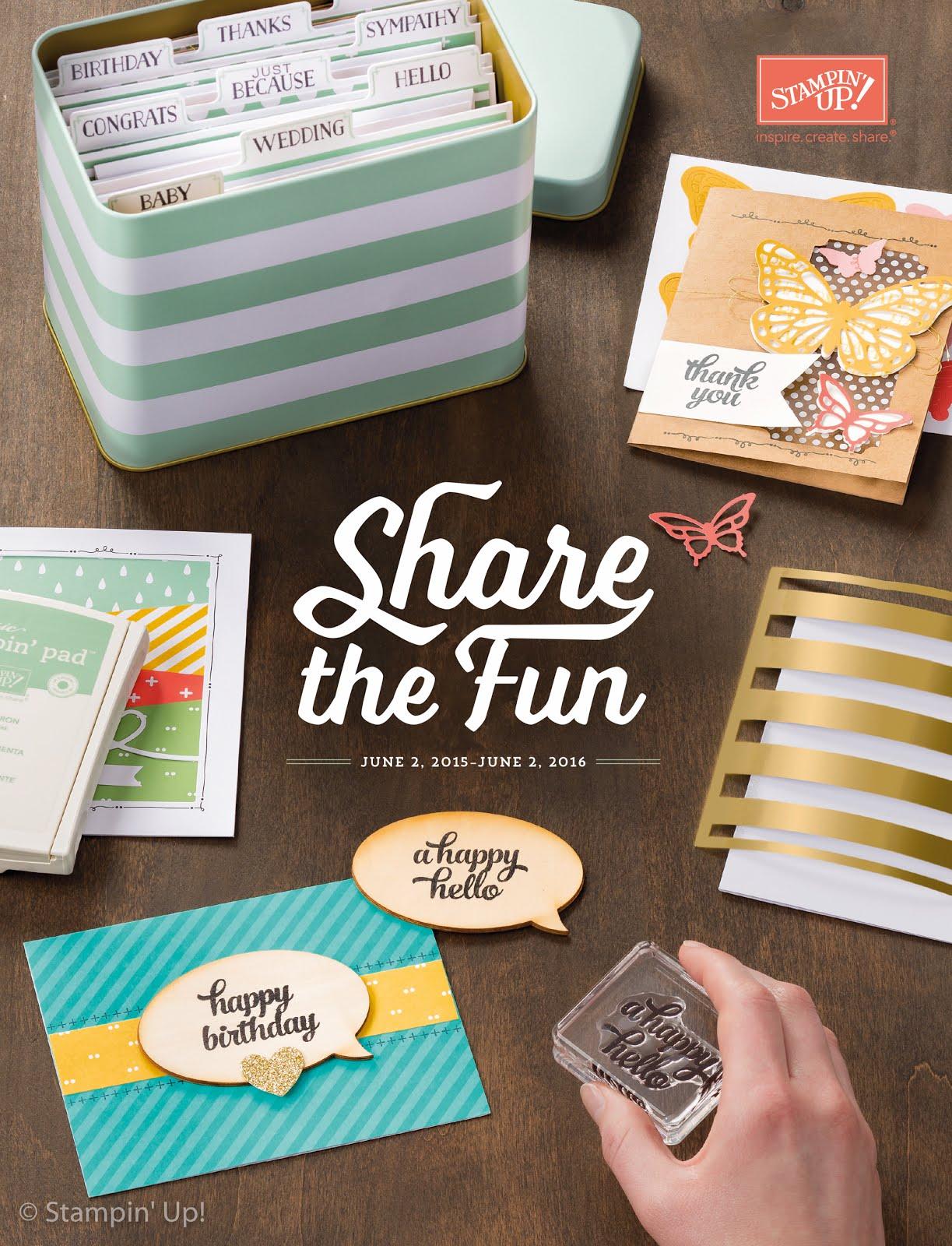 2015-2016 Stampin' Up! Catalogue