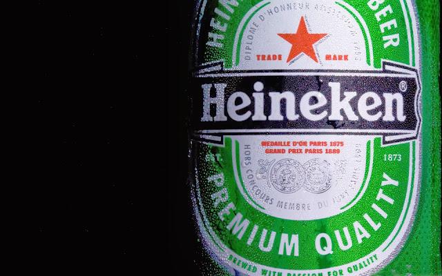 Famous Heineken Beer