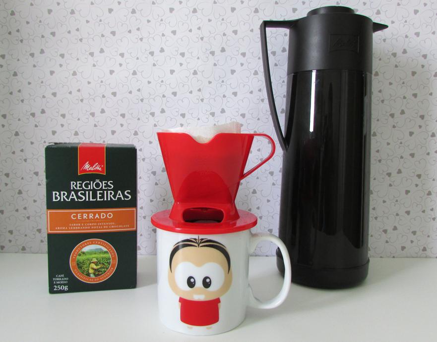 melitta, café, suporte