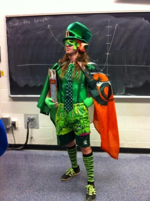 St. Patrick's Day Teacher