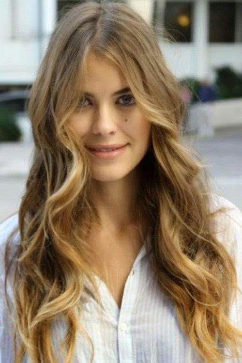 10 Trendy Long Wavy Hairstyles 2015