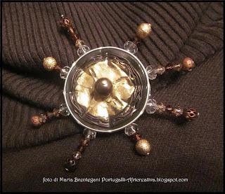 Spilla brun'oro