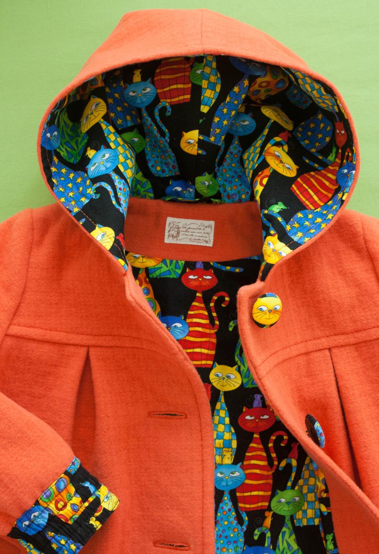 Сшить из флиса пальто для девочки фото 533