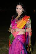 Malavika nair photos in half saree-thumbnail-7
