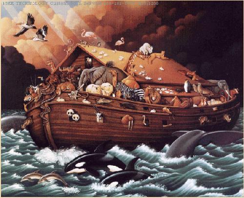 Spirit building a business is like building noah s ark