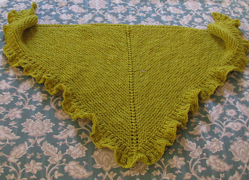 knitnscribble.com: Free and easy shawl pattern