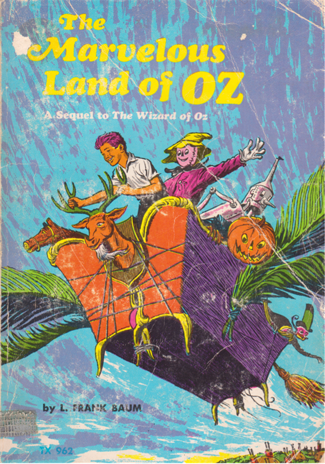 The Marvelous Land of oz a