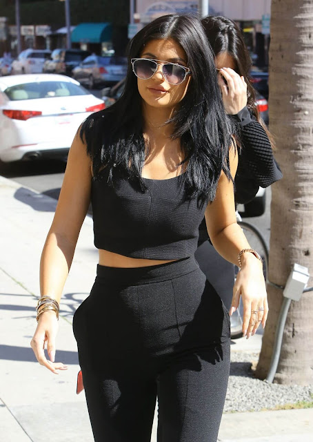 Kylie Jenner Street Fashion