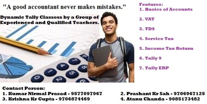 Dynamic Tally Classes by a Group of Qualified and Experienced Teachers