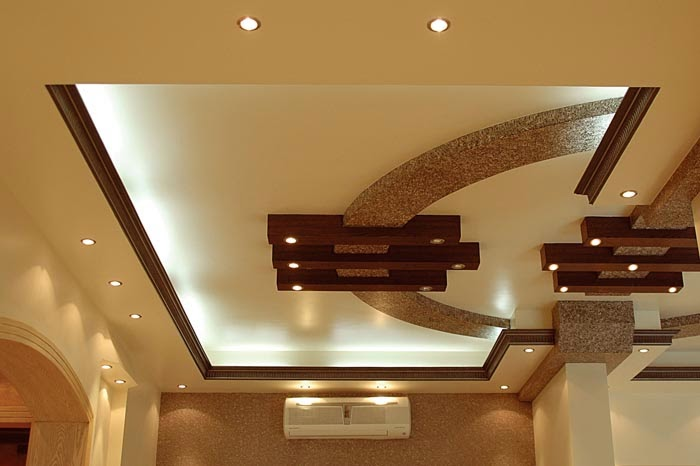 Modern false ceiling designs for living room interior for Ceiling interior designs