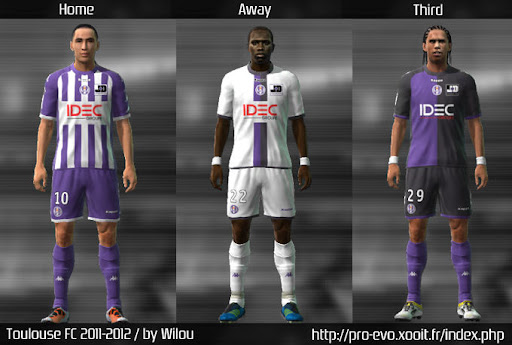 Toulouse 11/12 Kit Set by wilou