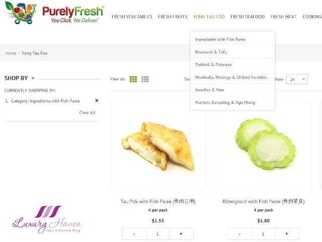 purelyfresh yong tau foo for steamboat online shopping