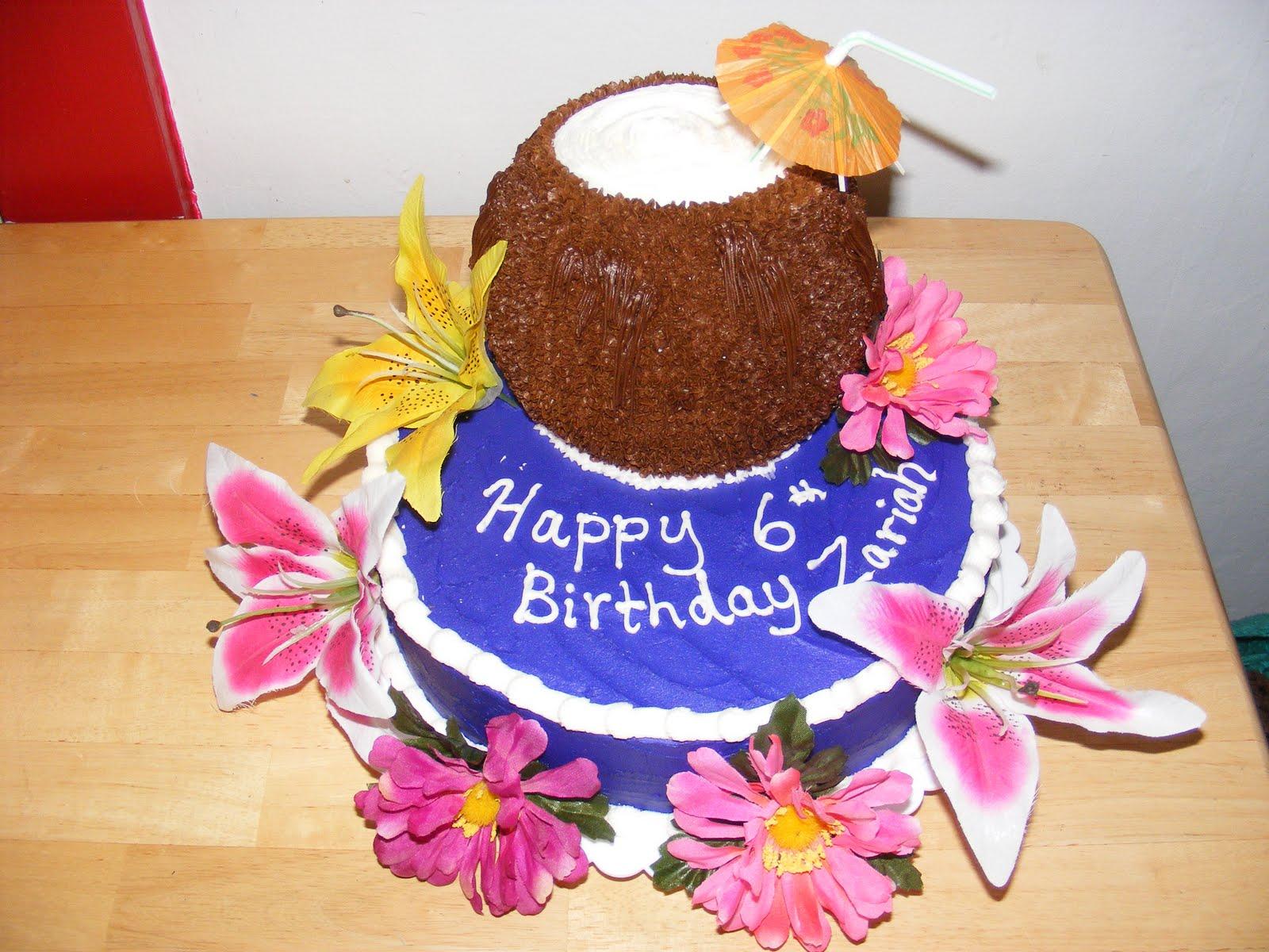 Legacy Cakes Zariahs 6th Birthday Cake