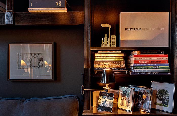 ideas decoracion-salon negro -dark living room