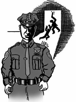 a history of corruption in the police department