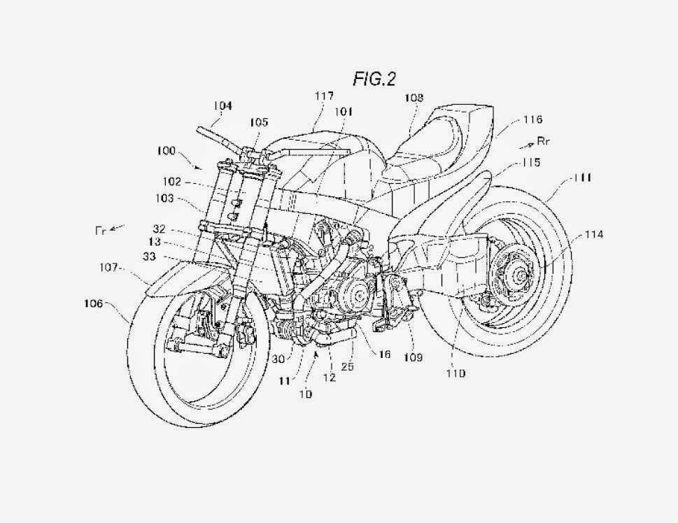 Turbo Katana Patent