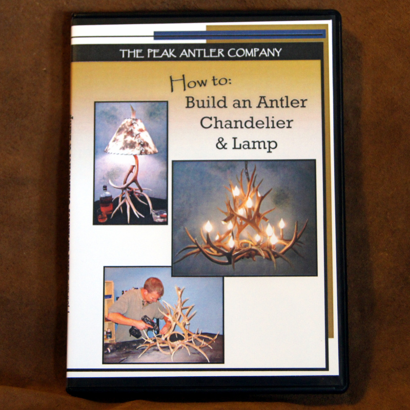 http://www.peakantlers.com/products-page/how-to-video-diy-build-your-own-antler-chandelier-and-lamp/
