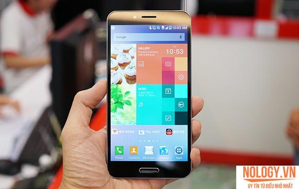 Sky a900 - review cảm biến vân tay đầu tiên tại Việt Nam