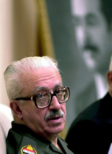 TARIQ AZIZ, ESCAPES THE NOOSE?