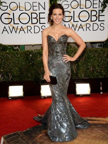 Кейт Бекинсейл рокля Златен глобус 2014