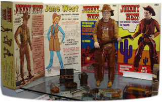 Marx's Johnny West Figures