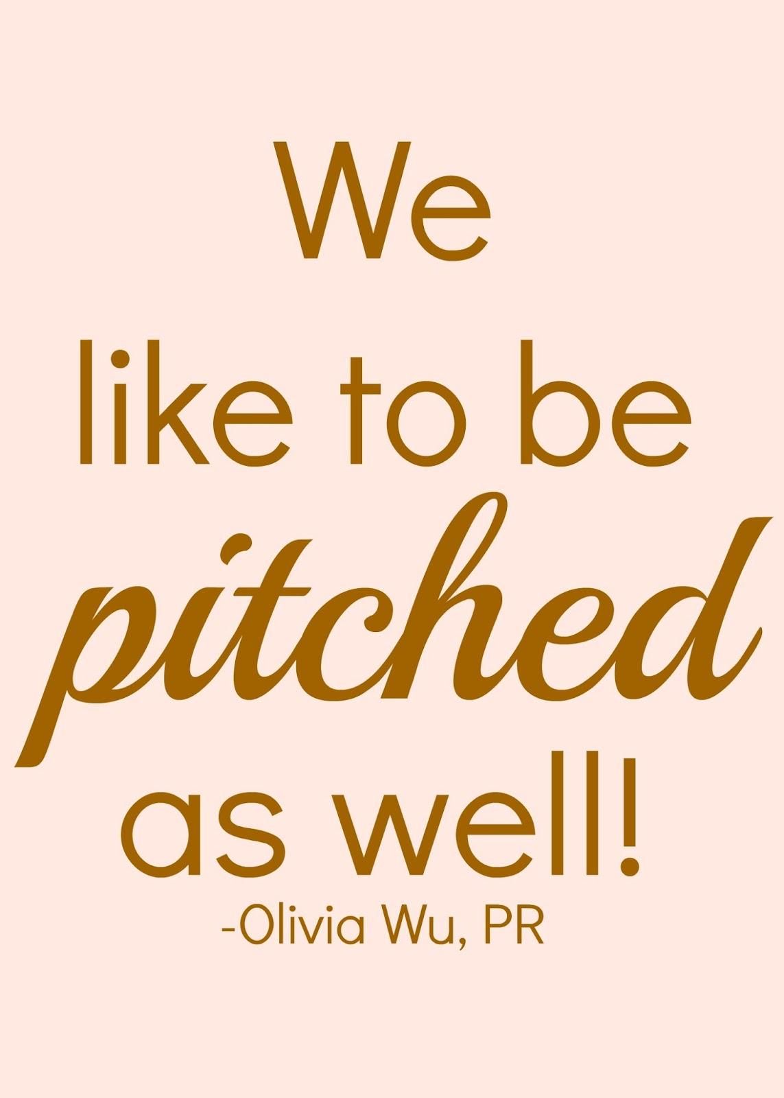 PR and blogging