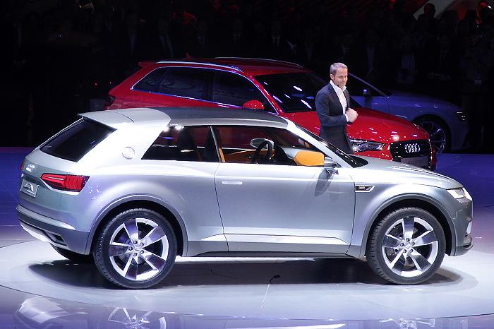 Audi Crosslane Coupe Previewed Auto Updatezz
