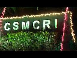CSMCRI Fellowships RA, Project Fellow, Assistant 2013