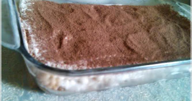 Cold Nescafe Cake Recipe