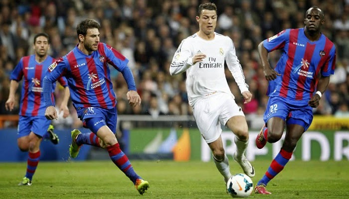 Ver partido Real Madrid vs Levante en vivo