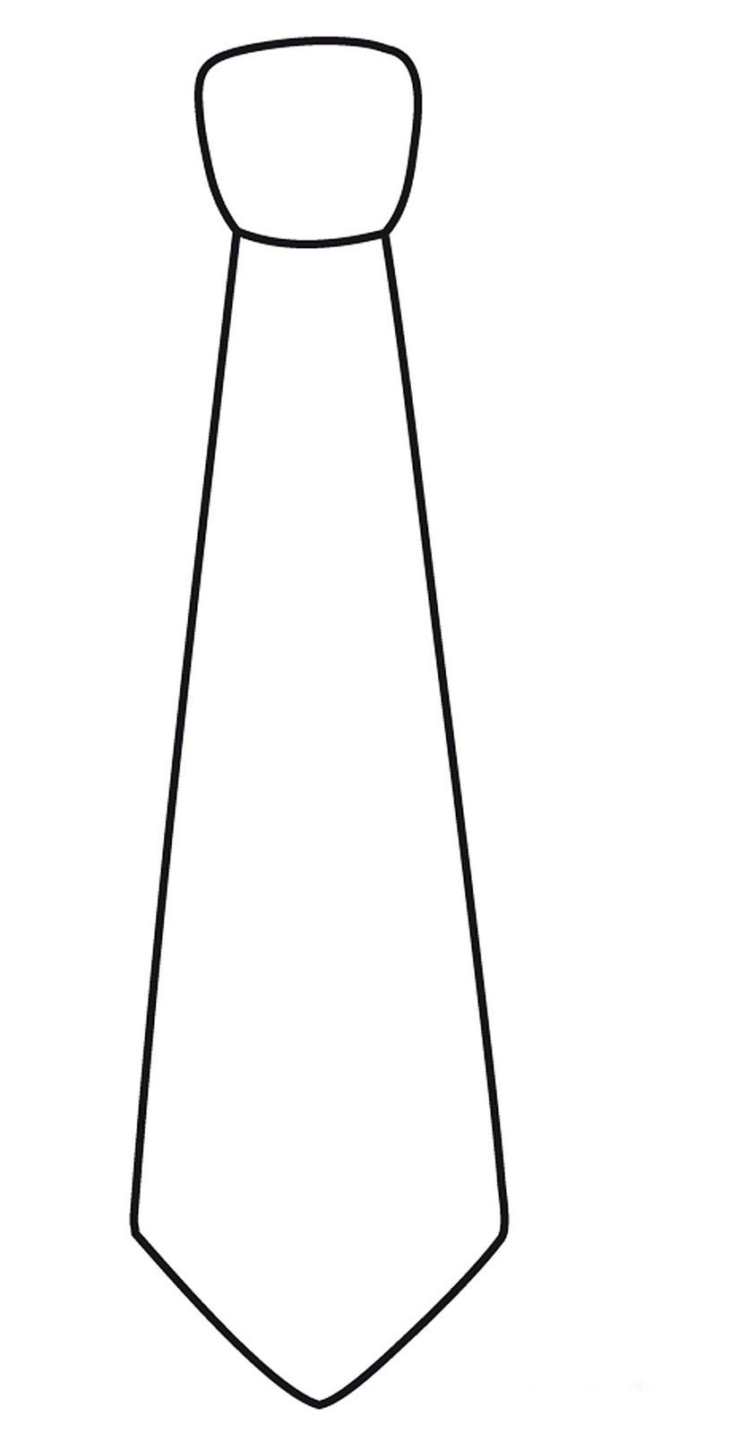 Галстук из бумаги своими руками шаблон