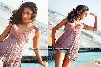 Sri Lankan Hot and Sexy Model Shalini Sajapaksha