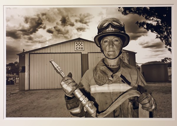 Julie Hough, Deanna- Firefighter